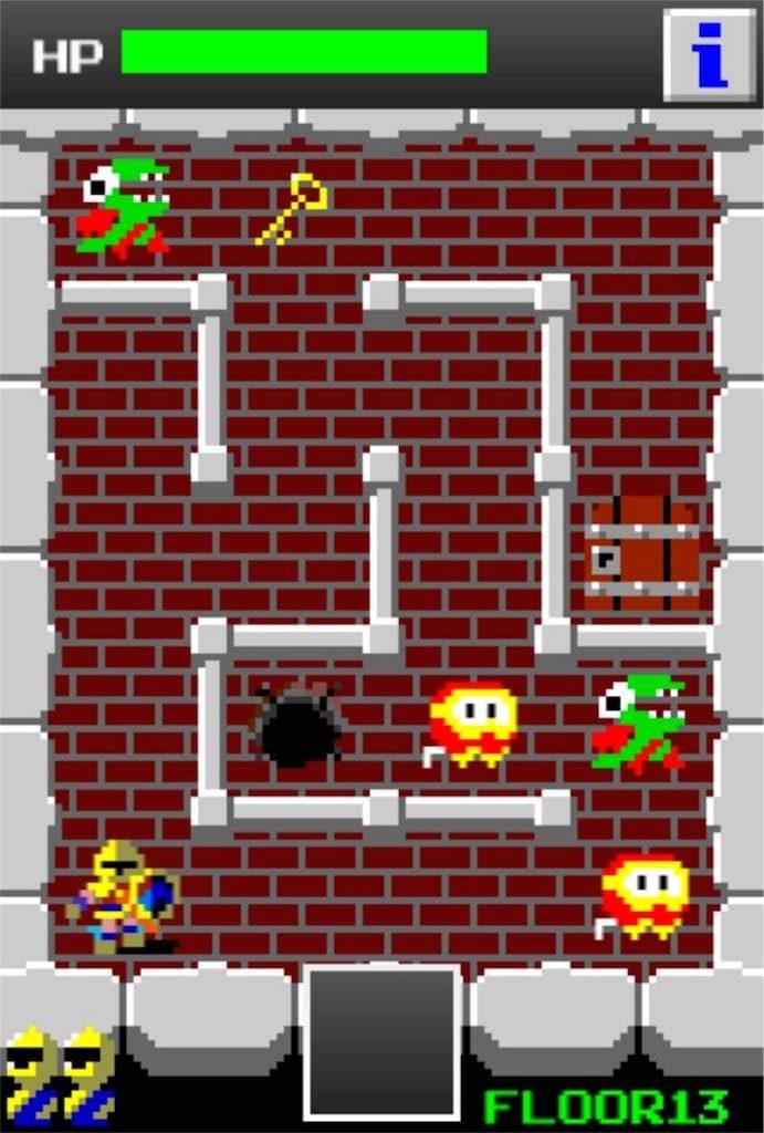 【狭くて小さいドルアーガの塔】 ステージ13の攻略