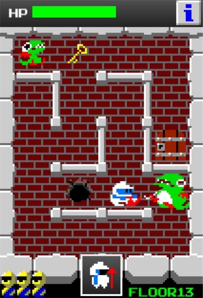 【狭くて小さいドルアーガの塔】 ステージ13の攻略3