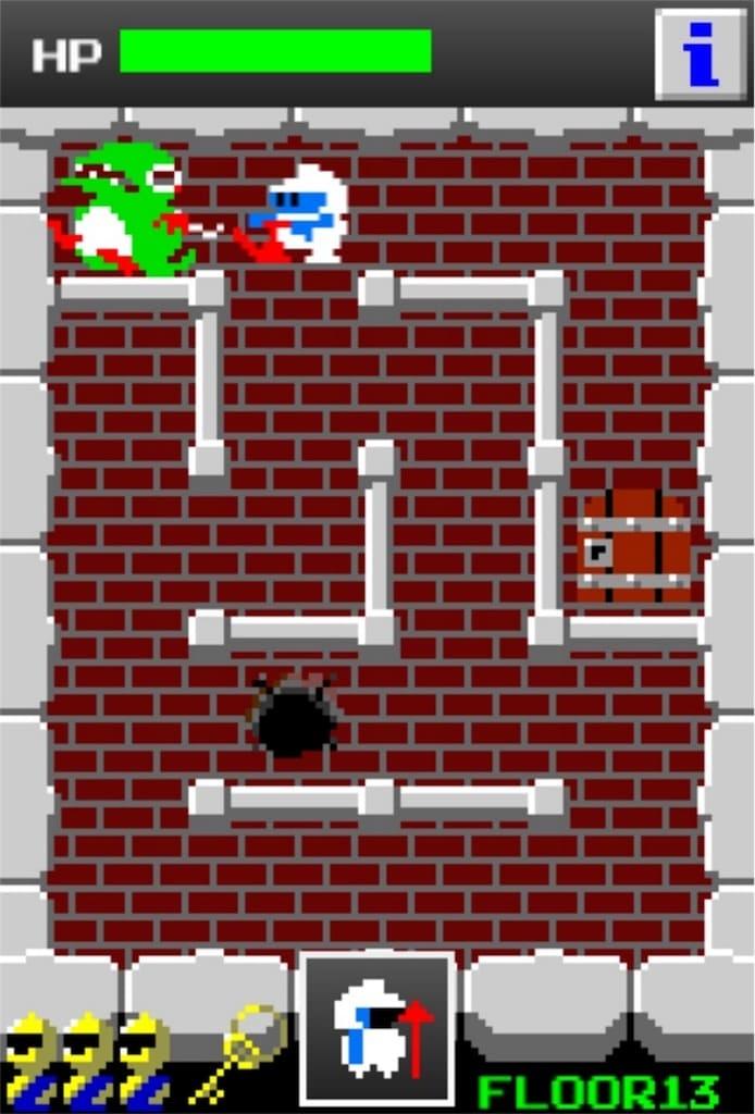 【狭くて小さいドルアーガの塔】 ステージ13の攻略4