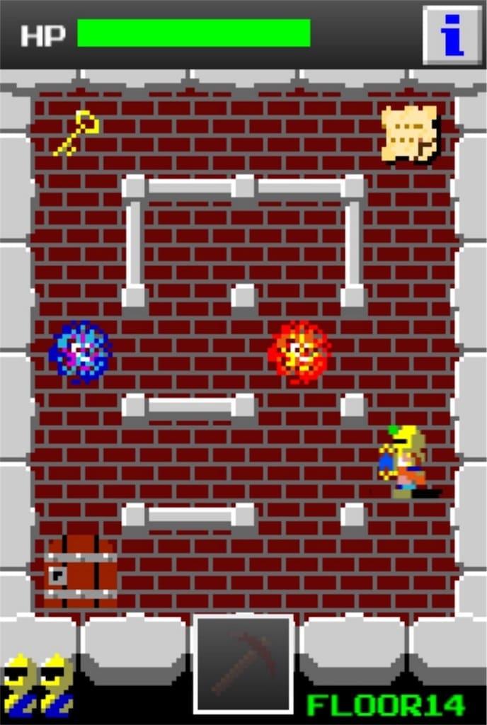 【狭くて小さいドルアーガの塔】 ステージ14の攻略3