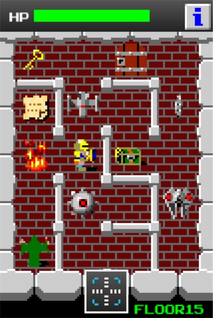 【狭くて小さいドルアーガの塔】 ステージ15の攻略2