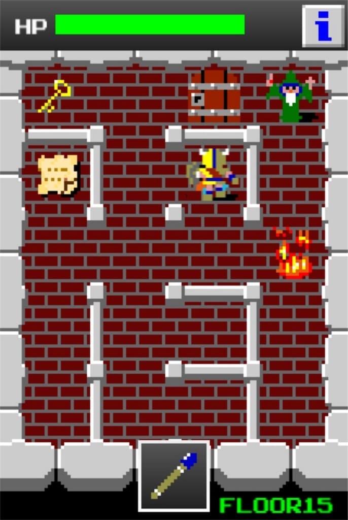 【狭くて小さいドルアーガの塔】 ステージ15の攻略3