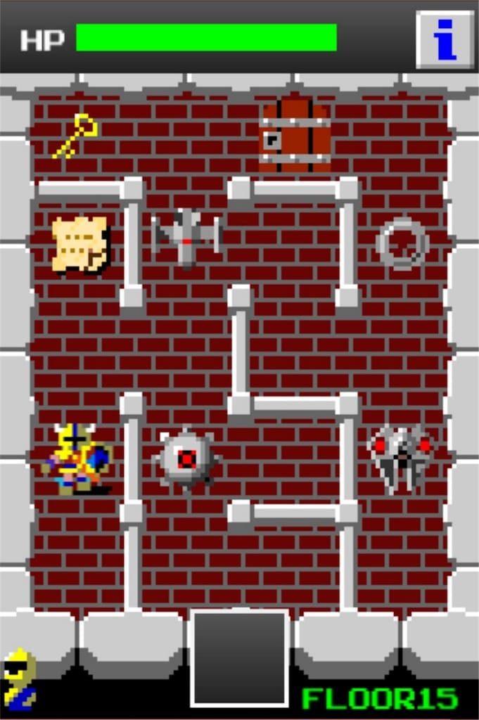 【狭くて小さいドルアーガの塔】 ステージ15の攻略