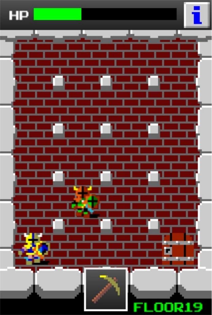 狭くて小さいドルアーガの塔 ステージ19の攻略3