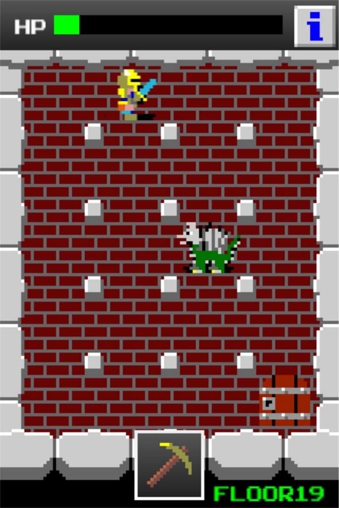 狭くて小さいドルアーガの塔 ステージ19の攻略5