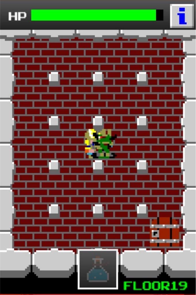 狭くて小さいドルアーガの塔 ステージ19の攻略6