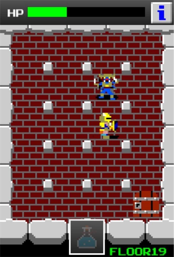 狭くて小さいドルアーガの塔 ステージ19の攻略7