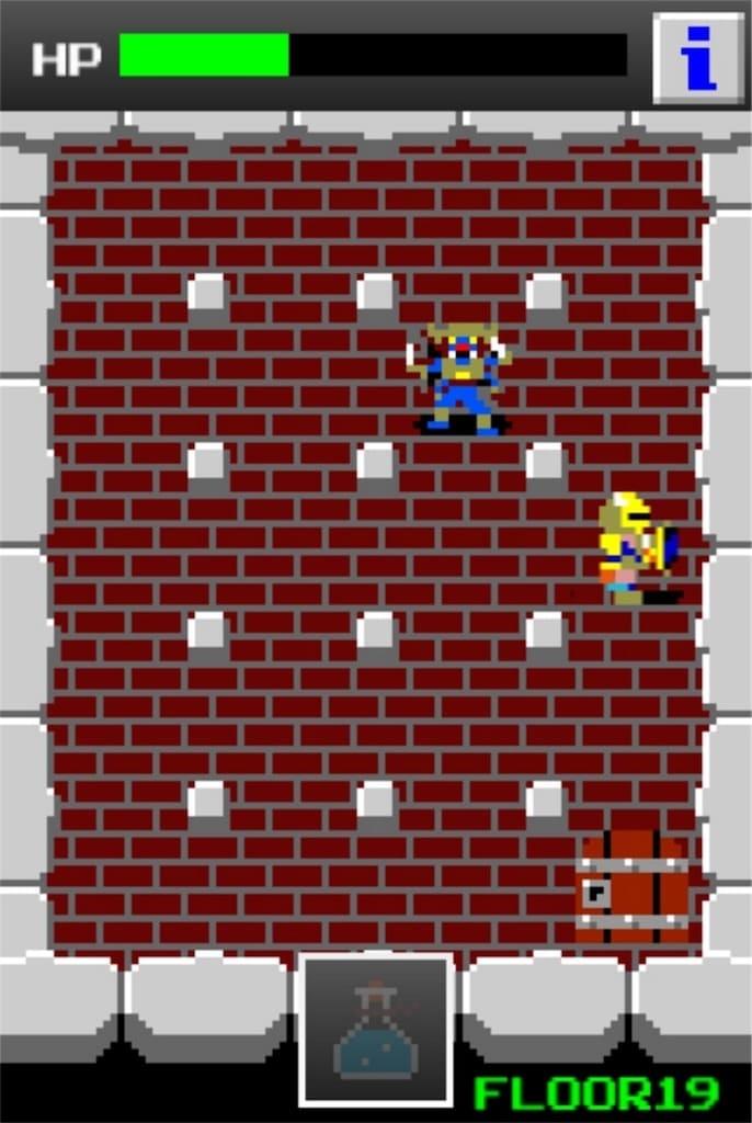 狭くて小さいドルアーガの塔 ステージ19の攻略8