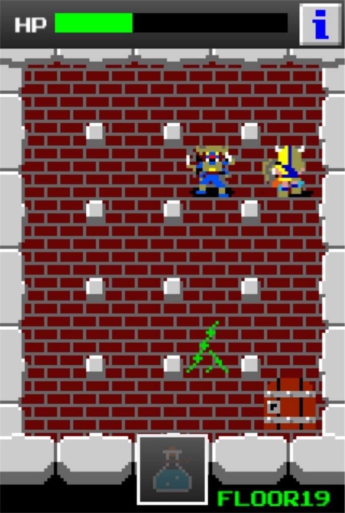 狭くて小さいドルアーガの塔 ステージ19の攻略9