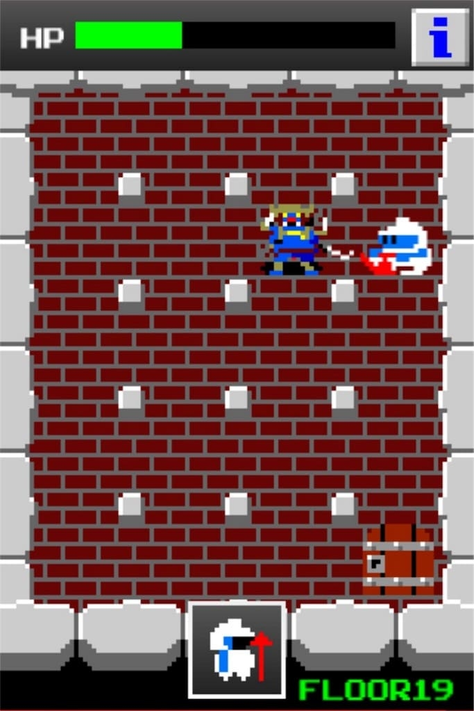 狭くて小さいドルアーガの塔 ステージ19の攻略10