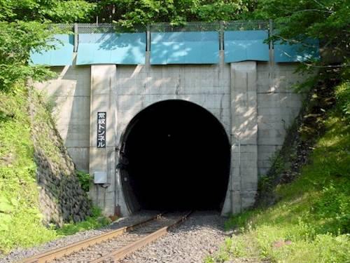 北海道の心霊スポットの「常紋トンネル」