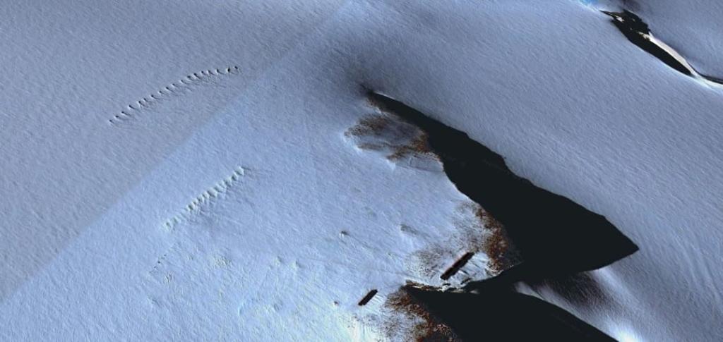 南極のナチスの秘密基地?