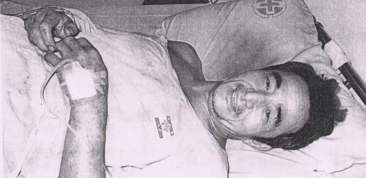 「1984年 台湾 炭鉱」の唯一の生存者