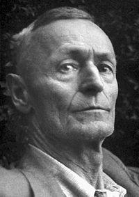 ドイツの作家ヘルマン・ヘッセ