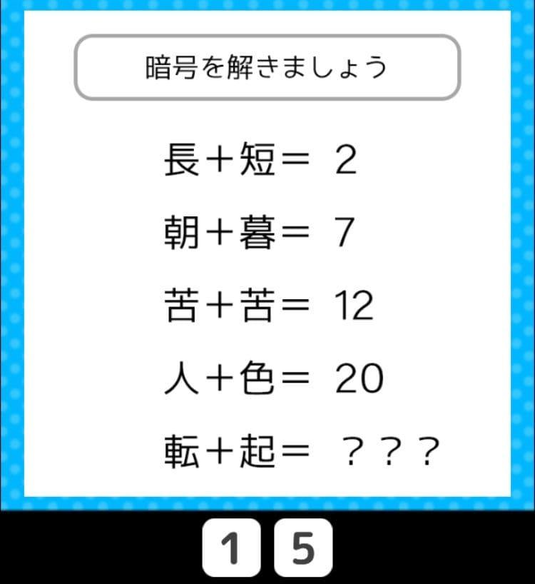 【クイズ王からの挑戦状】 ステージ3の問題47の攻略