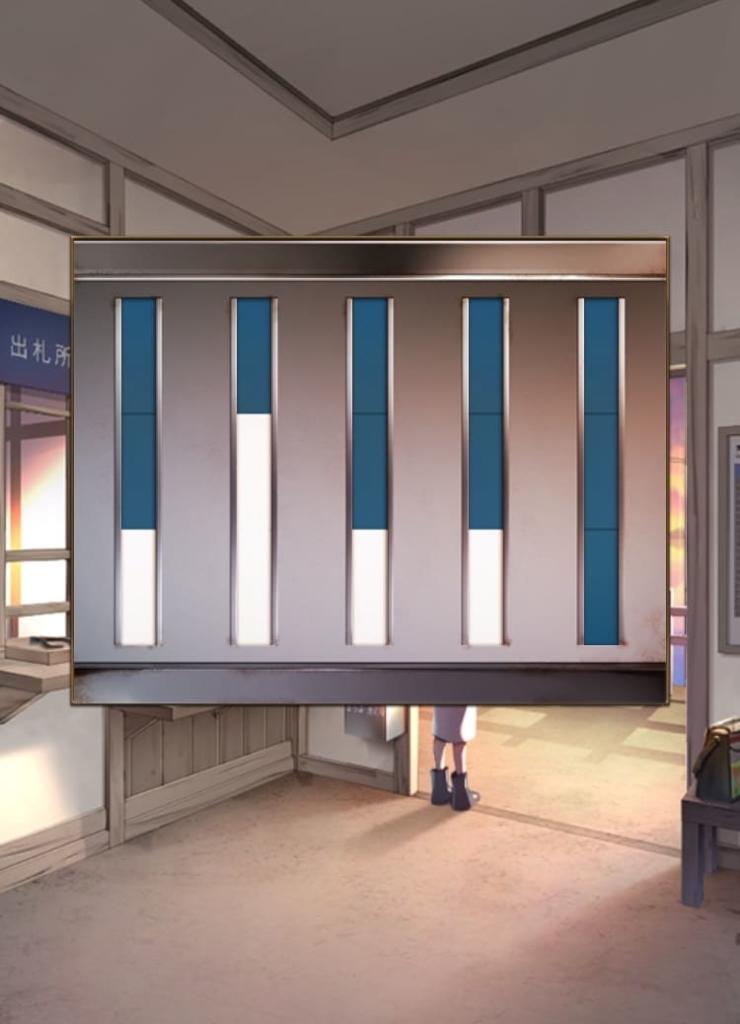 【脱出ゲーム ウセモノターミナル2】 ステージ1の攻略3