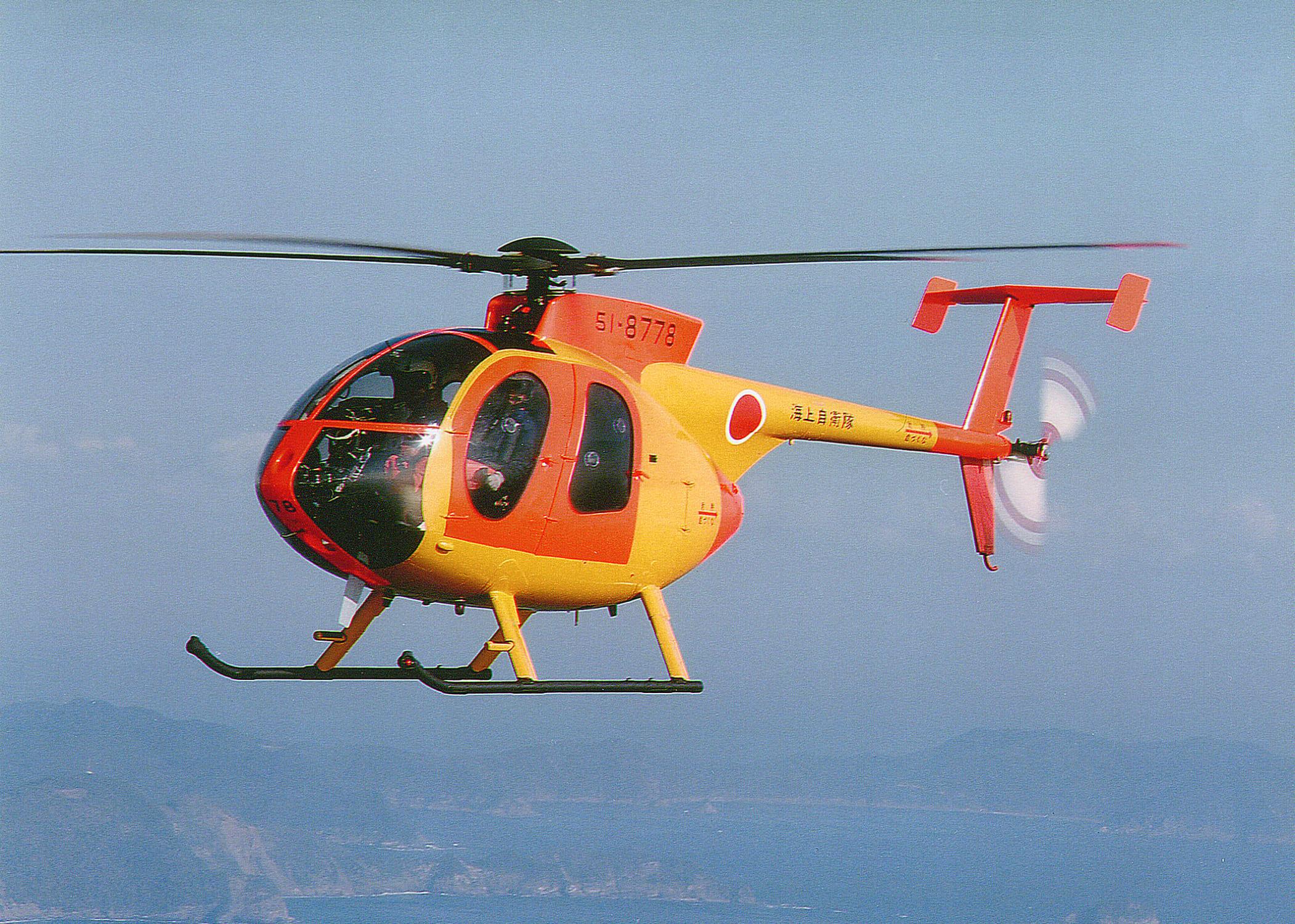 事故を起こしたOH-6DAヘリコプターの概要