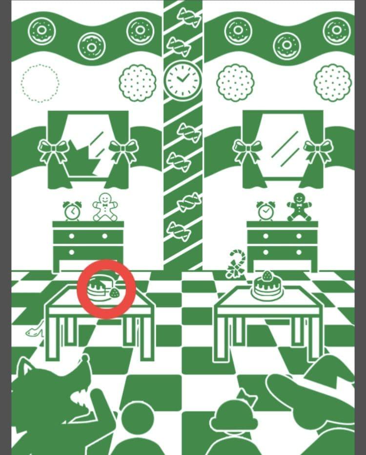 【非常口のあの人~ピクト探索ゲーム~】シリーズ1の「お菓子の城で」の攻略