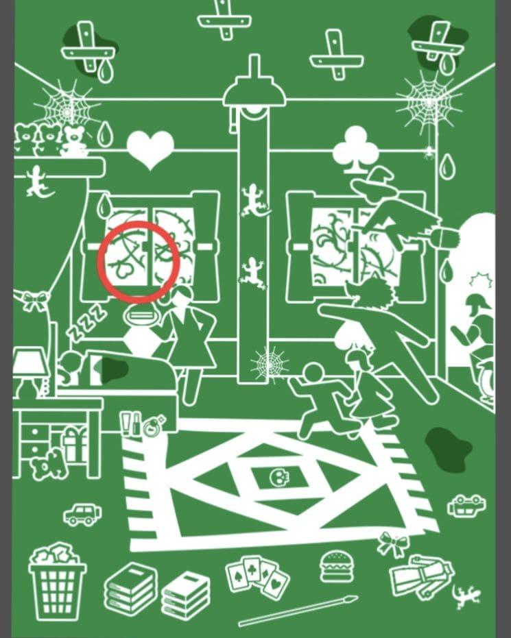 【非常口のあの人~ピクト探索ゲーム~】シリーズ1の「ねむり姫」の攻略