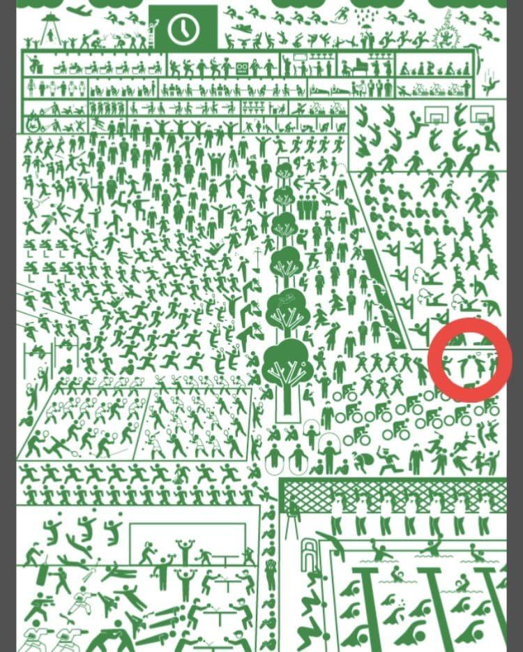 【非常口のあの人~ピクト探索ゲーム~】シリーズ2の「学校」の攻略