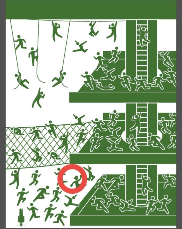 【非常口のあの人~ピクト探索ゲーム~】シリーズ3の「アドベンチャーパーク」の攻略