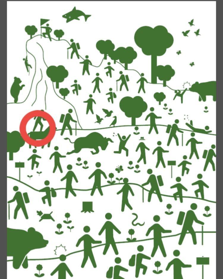 【非常口のあの人~ピクト探索ゲーム~】シリーズ3の「ハイキング」の攻略
