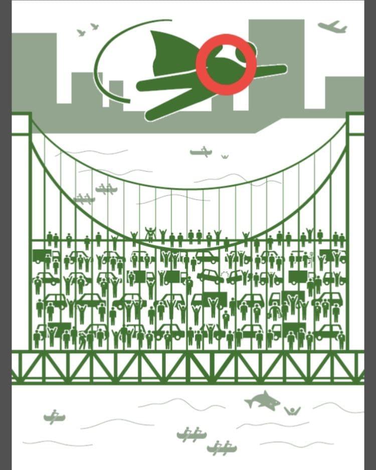 【非常口のあの人~ピクト探索ゲーム~】シリーズ3の「レインボーブリッジ」の攻略