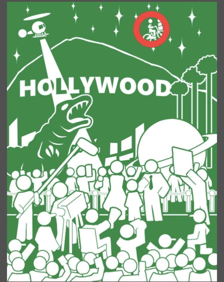 【非常口のあの人~ピクト探索ゲーム~】シリーズ4の「ハリウッド」の攻略