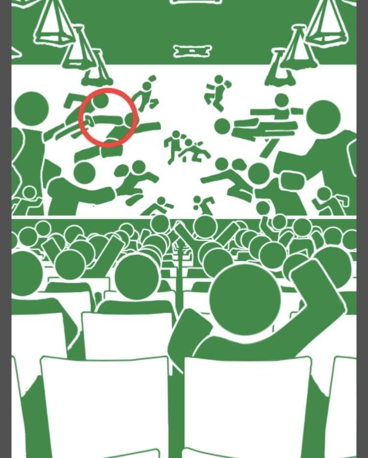 【非常口のあの人~ピクト探索ゲーム~】シリーズ4の「映画館」の攻略