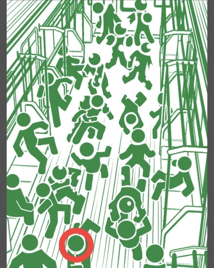 【非常口のあの人~ピクト探索ゲーム~】シリーズ4の「ゾンビ列車」の攻略
