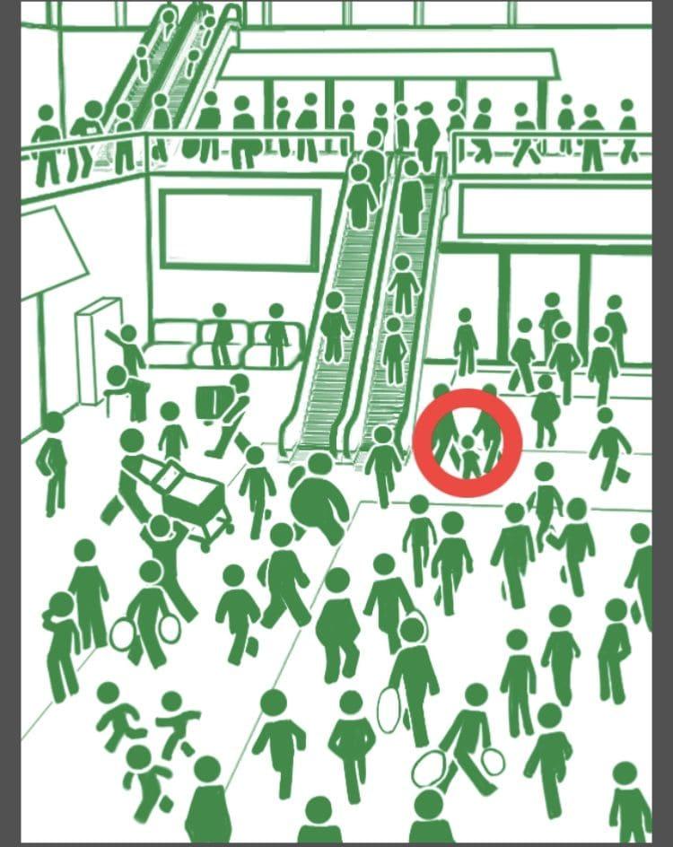 【非常口のあの人~ピクト探索ゲーム~】シリーズ4の「休日のデパート」の攻略
