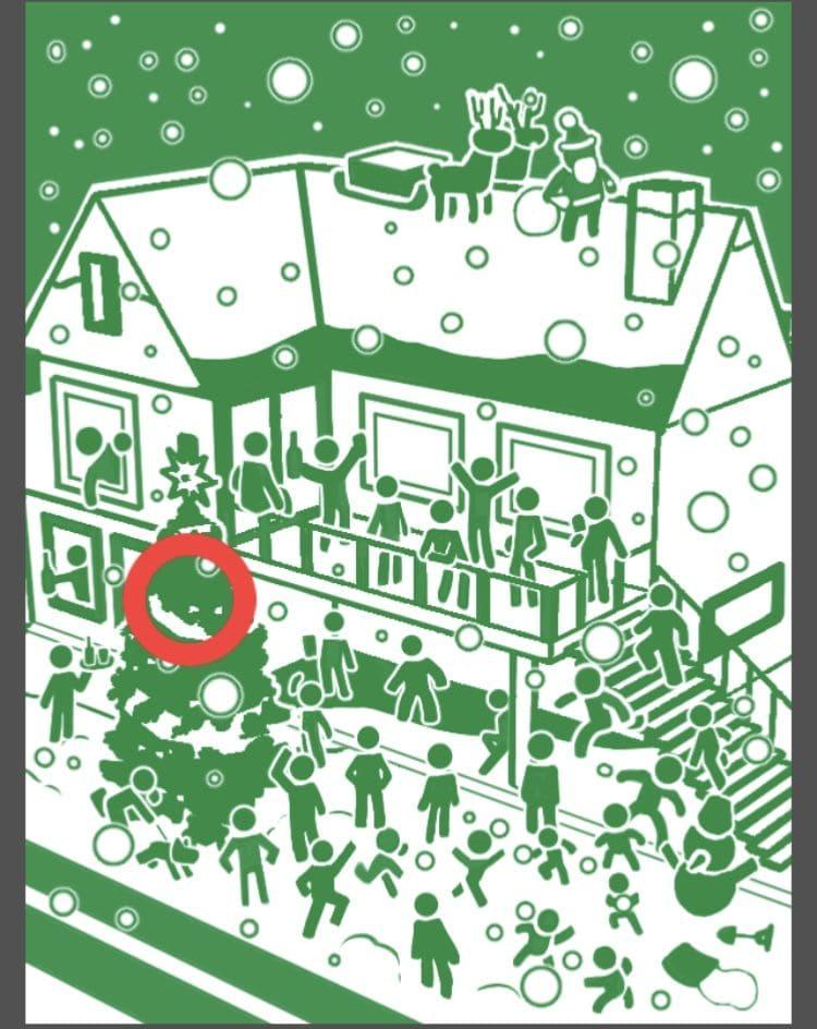 【非常口のあの人~ピクト探索ゲーム~】シリーズ4の「今夜は聖なるクリスマス」の攻略
