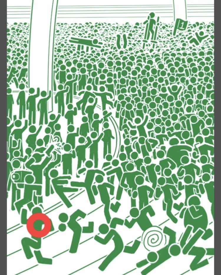 【非常口のあの人~ピクト探索ゲーム~】シリーズ4の「大渋滞のマラソン大会」の攻略