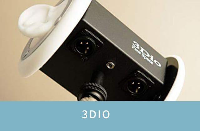 米3Dioのバイノーラル録音用マイク ASMRマイク Free Space XLR特注仕様 ファントム電源供給対応 並行輸入新品